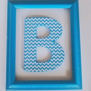 Two piece initial frame set.